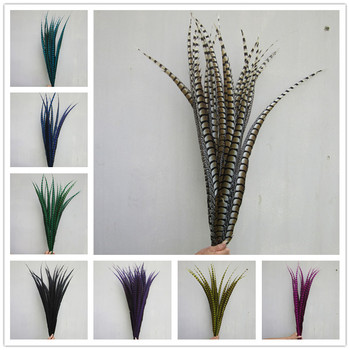 10pcs 32-36 inche/80-90cm natural Lady Amherst Pheasant Feather pheasant feathers for carnival party costumes cosplay decoration