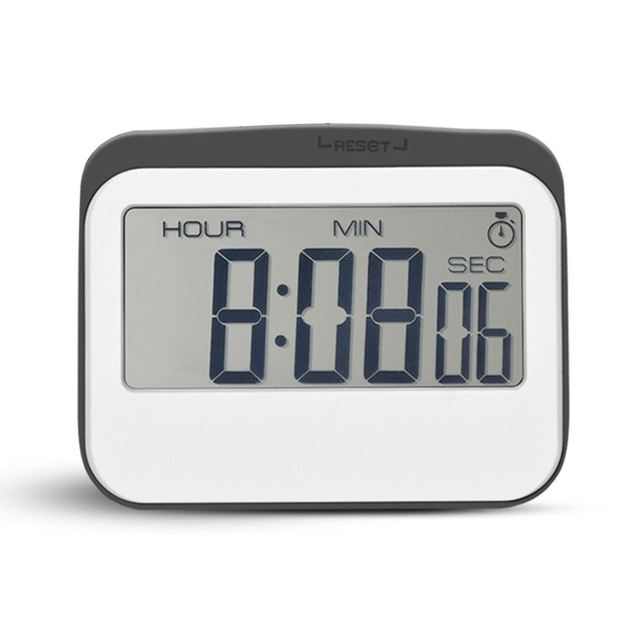 aima magnetic digital 24 hours kitchen timer clock with large