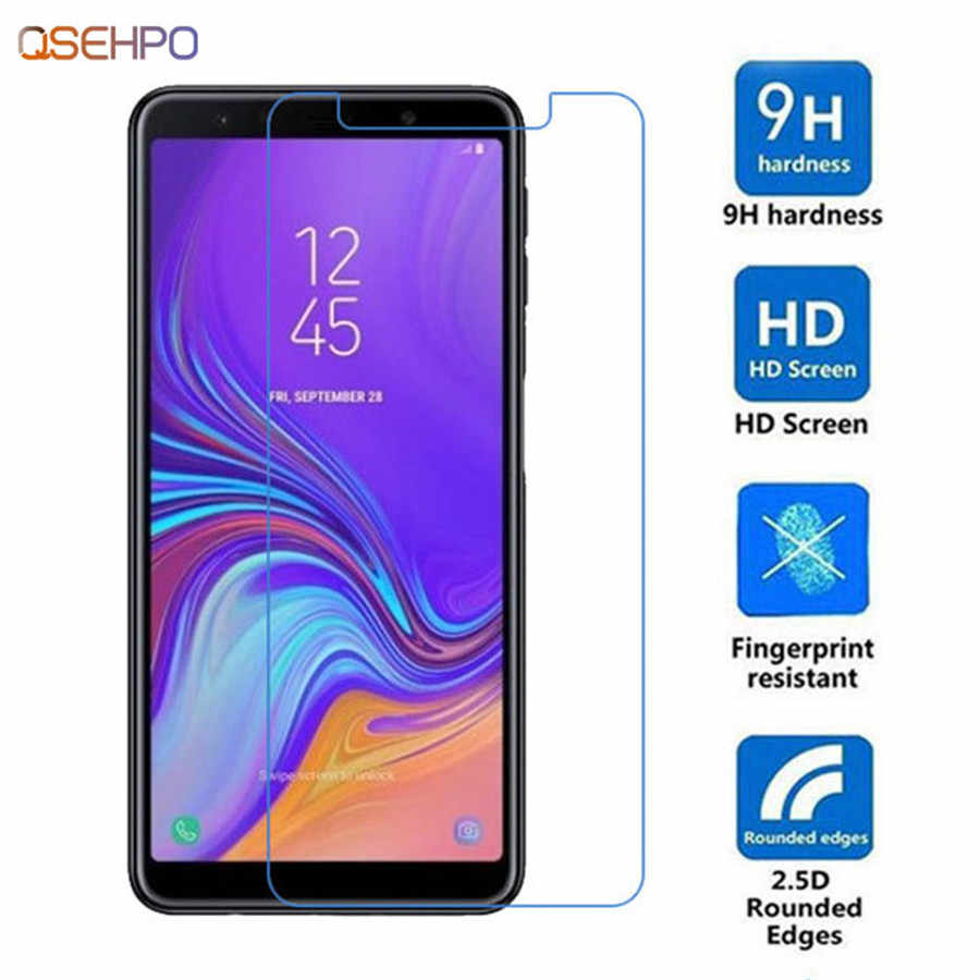 9H Tempered Protective Glass For Samsung Galaxy A3 A5 A7 A8 J3 J5 J7 2015 2016 2017 Screen Protector on A6 A8+ J6 Plus 2018 Film