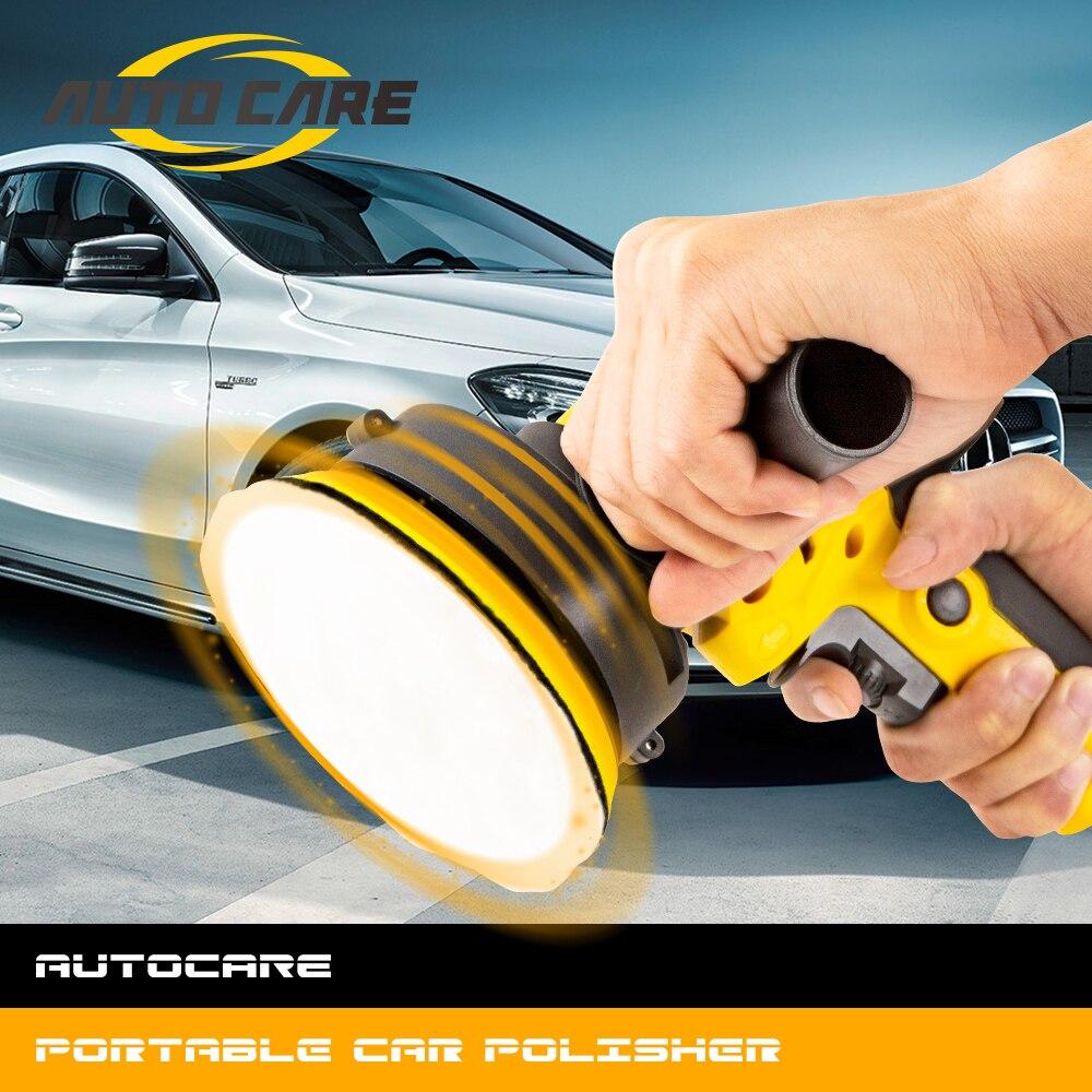 220V 3500 tr/min voiture électrique polisseuse Machine 600W Auto polissage Machine réglable vitesse ponçage épilation outils voiture accessoires