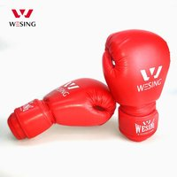 2015 Hot Sale Wesing Black Blue Red Children Boxing Gloves 6oz