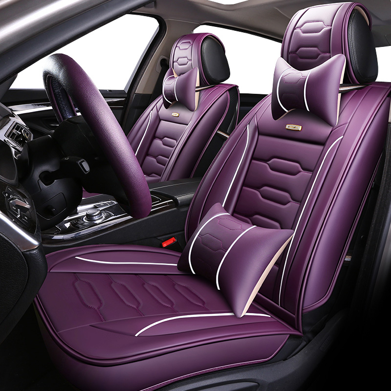 Universal PU Leather car seat covers For Lexus RX LX NX EX CT RC IS GS