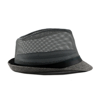 Summer Jazz Cap - Beach Straw Fedora 4