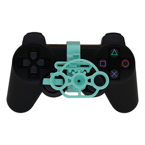 Image 5 - Mini Steering Wheel Controller Replacement Accessories for Sony Playstation PS3 Racing Game