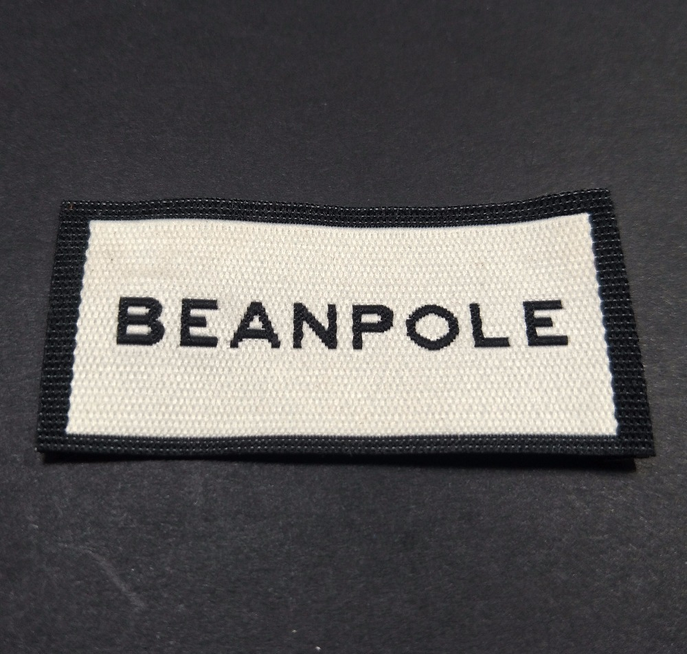 Customized garment satin labels/clothing woven labels/logo/garment tags/private brand name printing 1000 pcs a lot label