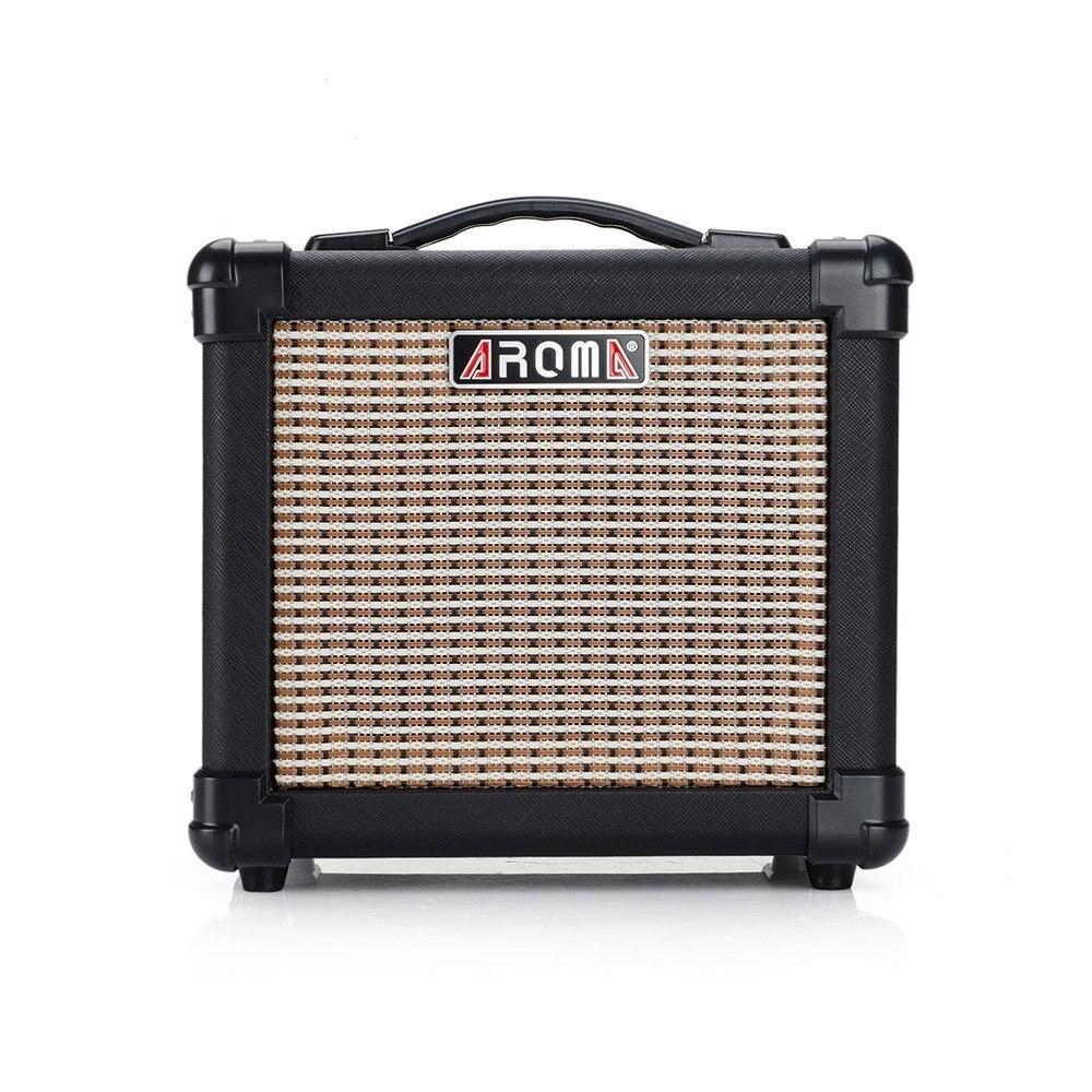 Portable 10W Guitar Amplifier Speaker Box Handy Acoustic Electric Guitar Bass AMP Sounder