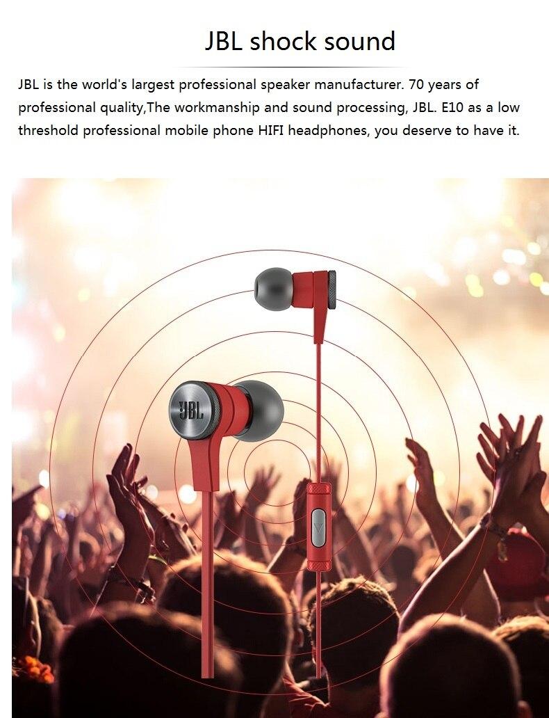 New Original JBL E10 Bass Stereo Earphone New Original JBL E10 Bass Stereo Earphone HTB1Pn5bPFXXXXXWXVXXq6xXFXXXK