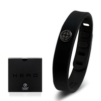 Power Ionics Hero Series Hawkeye IDEA BAND 3000 ions Sports Waterproof Titanium Healthy Bracelet Wristband Balance Body