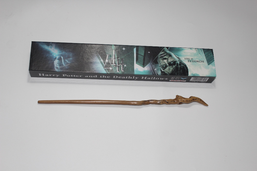 Harri Potter Series Garrrick Ollivander Magic Wand With Gift Box Cosplay Game Prop Collection Toy Stick K359 image