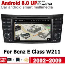 Car Multimedia Player For Mercedes Benz E Class W211 2002~2009 NTG Android Radio GPS Navigation Stereo Autoaudio DVD Player цена