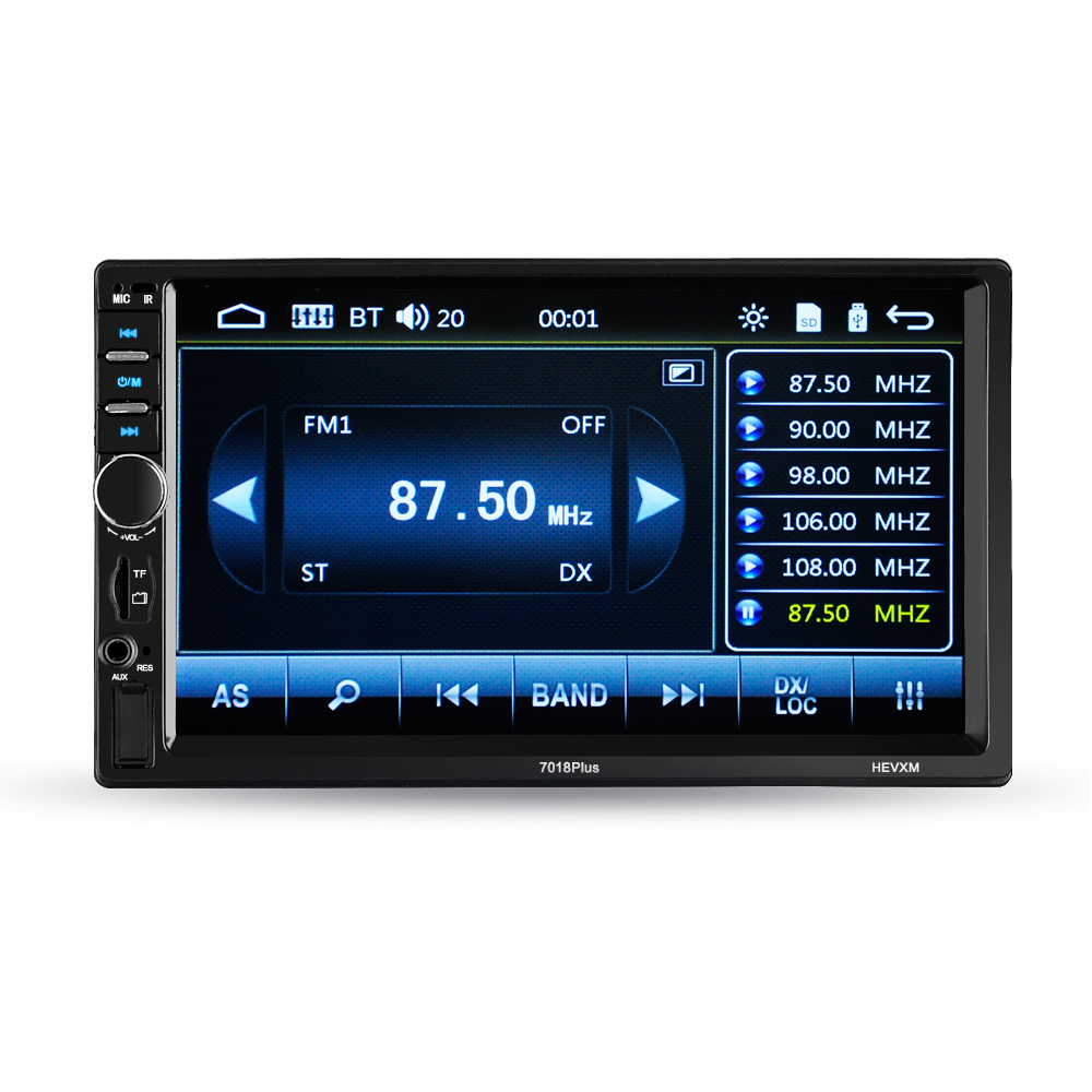 Autoradio Cassette Recorder Car MP5 Multimidia Player Automagnitola 2 Din MP4 MP3 Audio And Video Entertainment Remote Control 7 inch 2 din bluetooth car stereo multimedia mp5 player gps navigation fm radio auto rear view camera steering wheel control