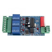 купить WS-DMX-RELAY-3CH-BAN Decoder Controller 3 Channels LED DMX Decoder Controller DC12V 10A 3CH Relay Board for Led Strip дешево