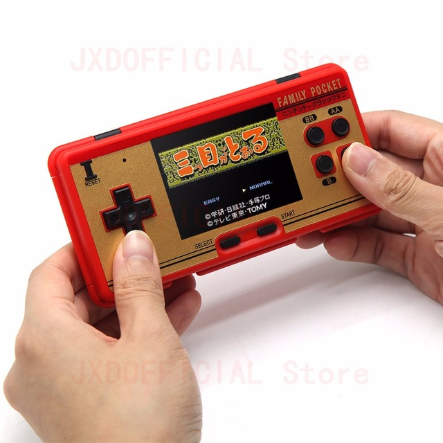 "Family Pocket Retro Video Game Console 3.0 ""Inch"