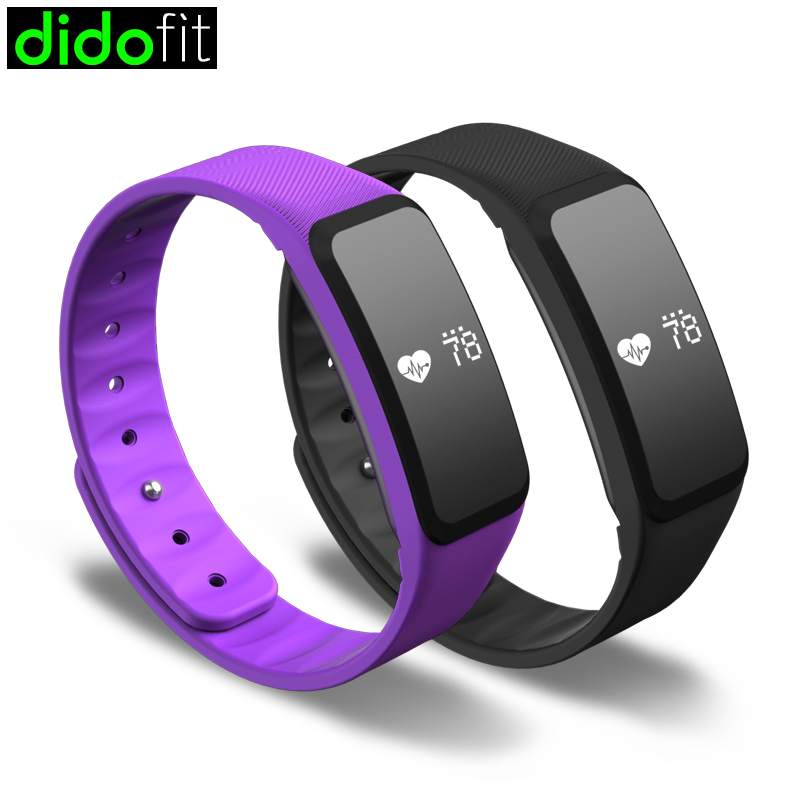 Dido Smart Bracelet Intelligent Worn Equipment Heart Rate Tracker Skin Temperature Waterproof Wristbands In From Consumer