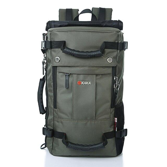 Brand Large-Capacity Laptop Backpack Men Messenger Casual Shoulder Bag Computer Backpack Functional Women Travel Versatile Bags