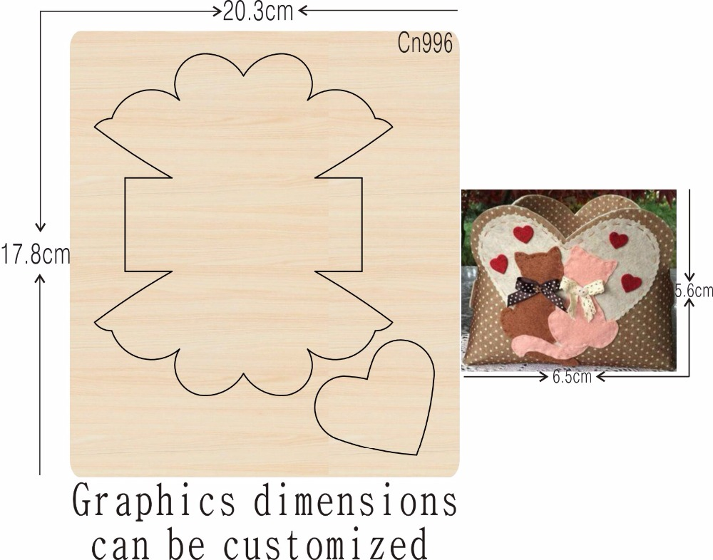 DIY new wooden mould cutting dies for scrapbooking Thickness 15 8mm