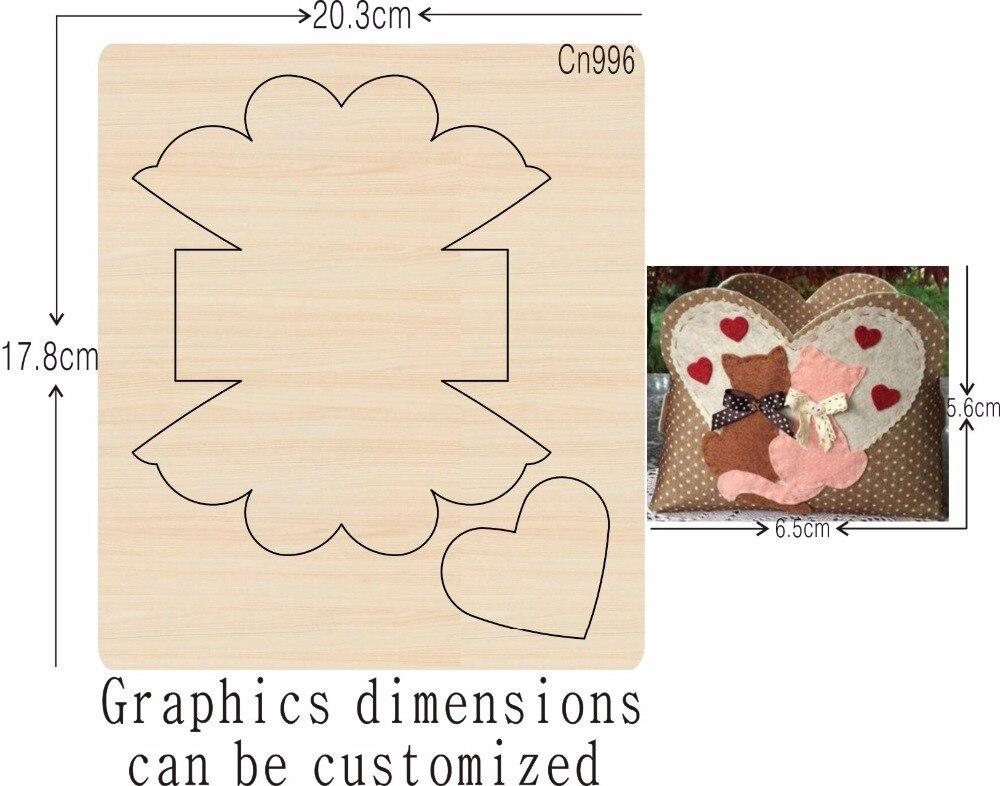 DIY nuevos moldes de madera para cortar troqueles para scrapbooking Thickness 15.8mm-in Troqueles from Hogar y Mascotas    1