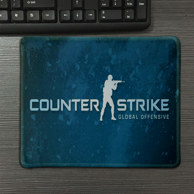 New best CS mouse pad blue mouse pad computer cool mousepad Custom gaming mouse mats to gamer mouse Mat
