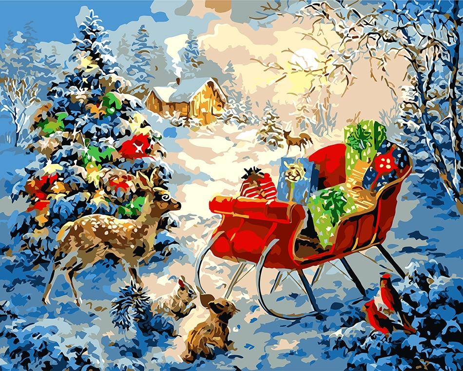 Рождество сказочные картинки