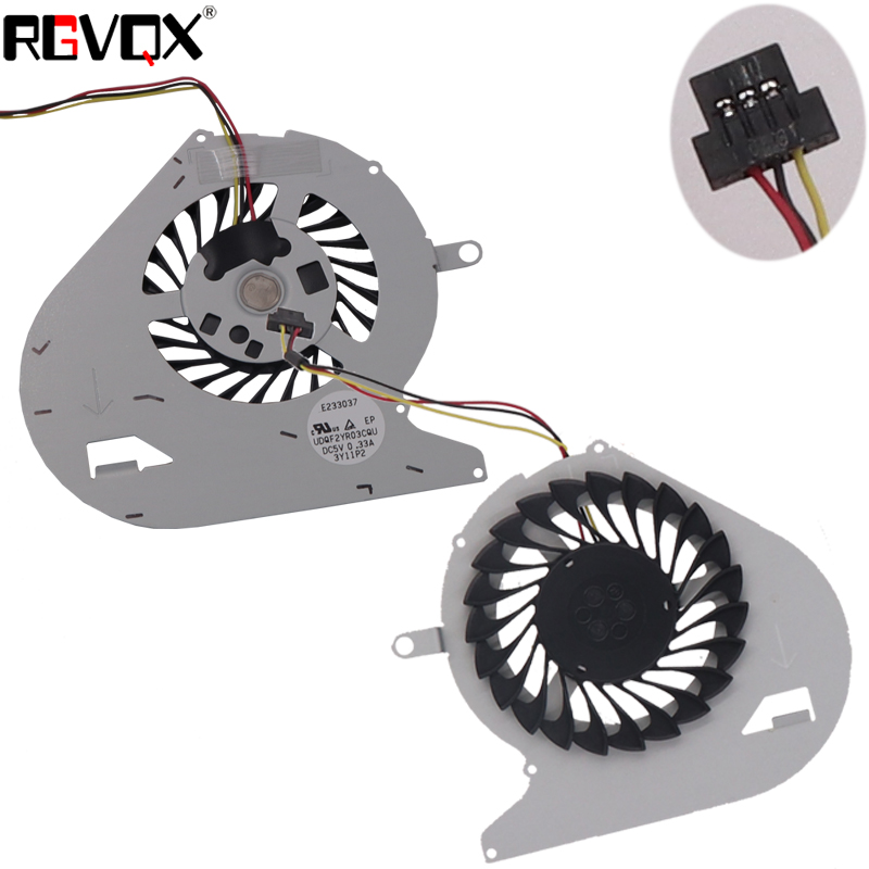 Купить с кэшбэком New Laptop Cooling Fan For SONY VAIO SVF14N SVF14N13CXB SVF14N16CXS SVF14N23 SVF14N25CXB PN: UDQF2YR03CQU CPU Cooler Radiator