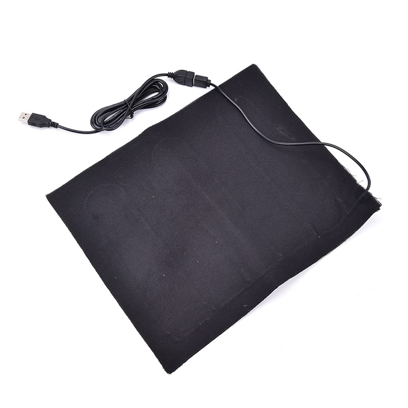 Image 4 - USB Fiber Heater Carbon Electric Heated Jacket Soft Cushion Winter Men Vest Heating Clothes Warmer Pads Keep Warm for mouse pad-in USB Gadgets from Computer & Office