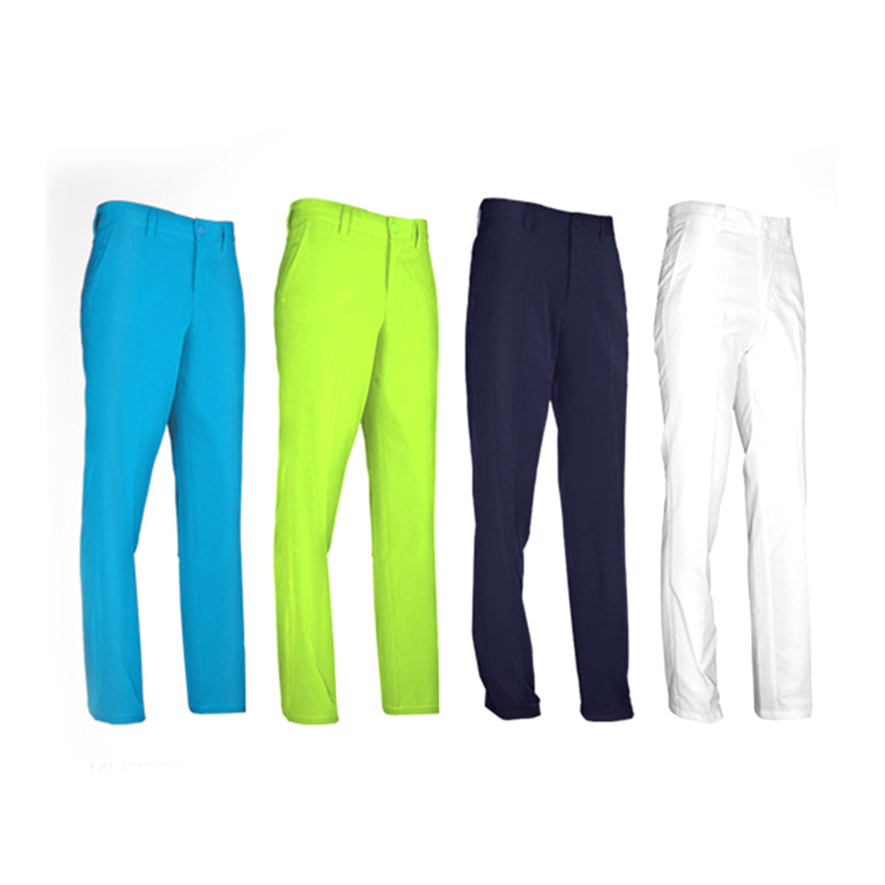 Men's Golf Pant Clothes Waterproof Sports Golf Trousers Quick Dry Breathable Pants 4 Colors XXS-XXXL High Elastic Durable цена