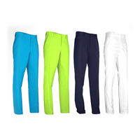 Men's Golf Pant Clothes Waterproof Sports Golf Trousers Quick Dry Breathable Pants 4 Colors XXS XXXL High Elastic Durable