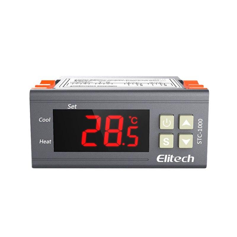 STC 1000 Température Contrôleur Thermostat Aquarium NTC Capteur 220 V