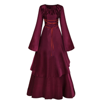 Black And Red Marie Antoinette Dress Gothic Victorian Dress Party Ball Gown Vampire Theatre Renaissance Dress Rococo Dresses