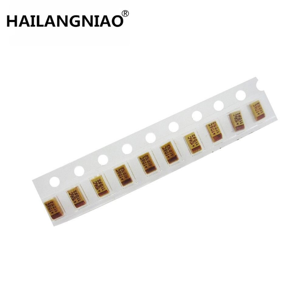 50PCS 1206 SMD tantalum capacitor 16V 10UF 106 10/% 3216 A-type NEW