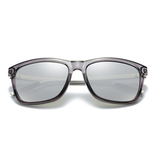 Men's Stylish Sunglasses with Black and Colorful Lenses