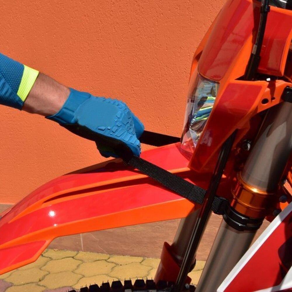 Apricot blossom Anteriore Posteriore Tenere parafango Pull Strap Forma for Husqvarna Te Fe 250 350 450 125 500 501 300 200 400 2020 FC FX TC TX 250 350 2019-2020 Color : Blue