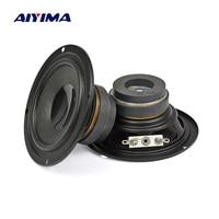AIYIMA 2 шт. дюймов портативные мини-колонки 8 Ом 10 Вт полный спектр лихорадка динамик DIY для дома театр аудио s