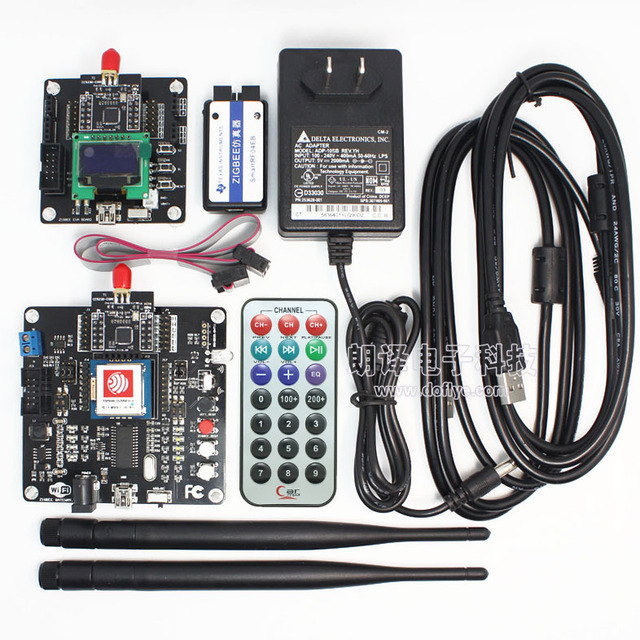 Sete inseto cc2530 placa de desenvolvimento zigbee kit wi-fi sem fio