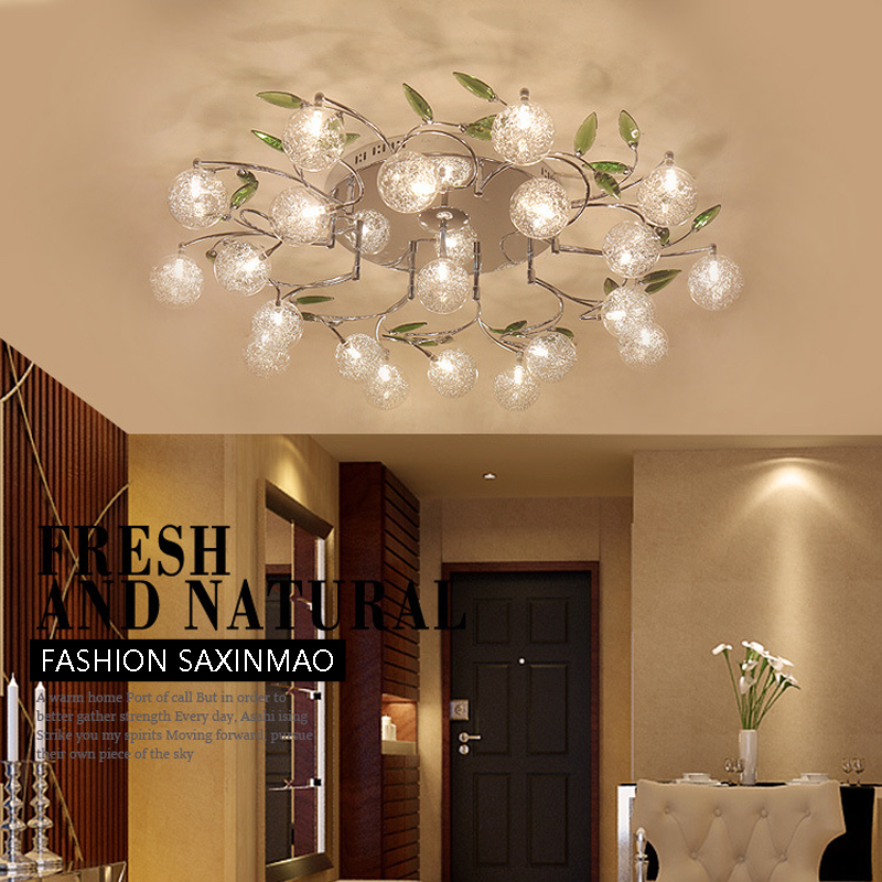 Flush Mount Ceiling Light Ceiling Lamps With Remote Control For Living Room Sitting Room Round Modern Lighting Lamparas Dero Jade White Ceiling Lights & Fans Ceiling Lights