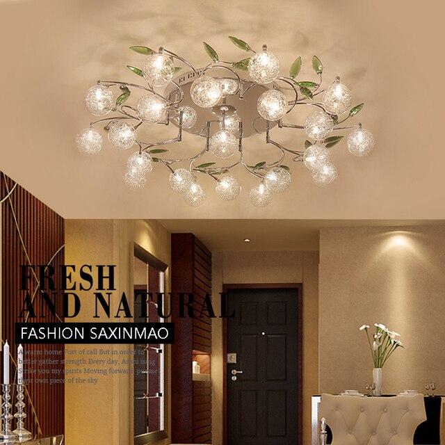 LED wohnzimmer beleuchtung deckenleuchte garten minimalistische ...