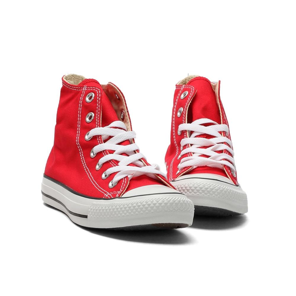 D'origine Converse all star chaussures hommes et femmes espadrilles de toile chaussures hommes femmes haute classique Planche À Roulettes Chaussures livraison gratuite - 2
