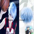 Мода нью-куроко баскетбол куроко Tetsuya 32 см короткие голубой лед синтетический аниме косплей
