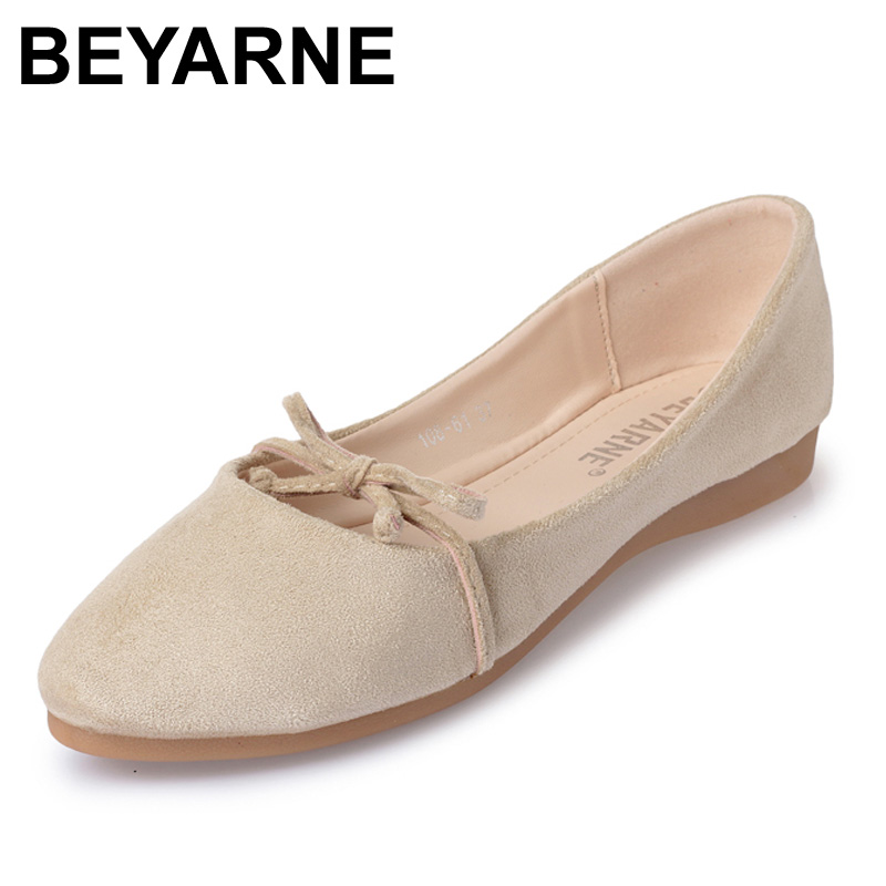 2017 Fashion Women Shoes Woman Flats high quality suede Casual Comfortable pointed toe Rubber Women Flat Shoe Hot Sale New Flats 7ipupas hot selling fashion women shoes women casual shoes comfortable damping eva soles flat platform shoe for all season flats