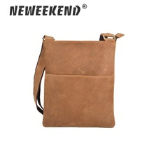 Brands Men Messenger Bags Genuine Leather Shoulder Male Thin Business Crossbody for Zipper Designer SF047