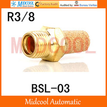 Free shipping BSL-03 Pneumatic components solenoid valve deadened the noise of the silencer