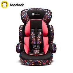 BAAOBAAB Регулируемый Детское Автокресло с бесплатной доставкой в свою очередь на изменение режимная группа 1/2/3 весом 9-36 кг ребенок Детская без...