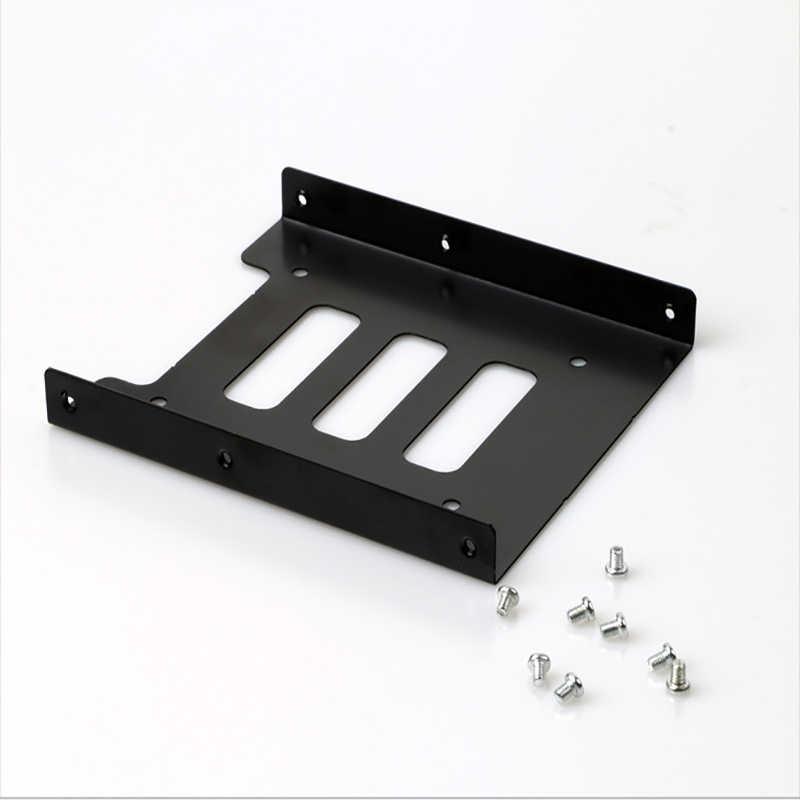 Soporte adaptador de montaje metálico para ordenador de escritorio, portátil, PC, servidor SSD, 2,5 a 3,5 pulgadas