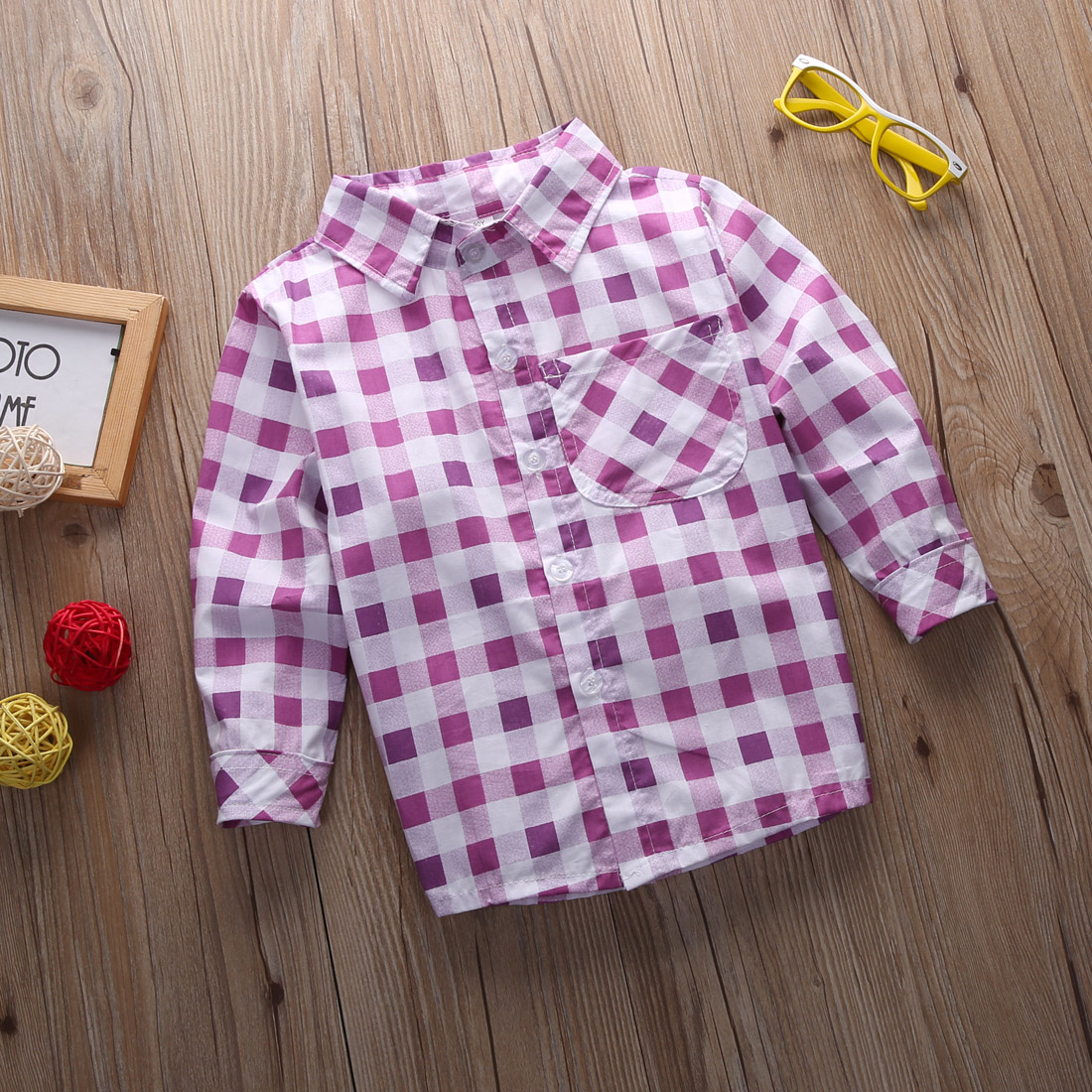 cb969ed5 2015 Girls Checked Shirts Baby Kids Tops Plaid Long Sleeve Blouse Girls  Clothing 2 7Y-in Blouses & Shirts from Mother & Kids on Aliexpress.com |  Alibaba ...