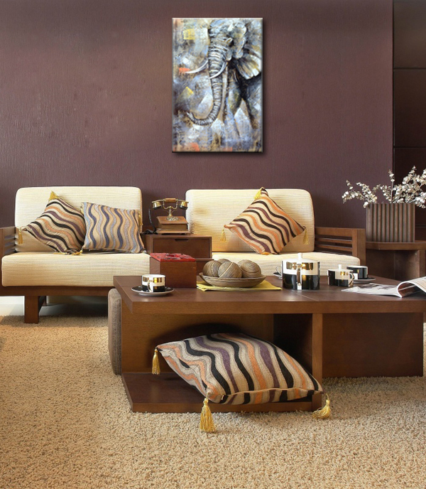 Painting For Bedroom online shop nice elephant oil paintings for bedroom decoration