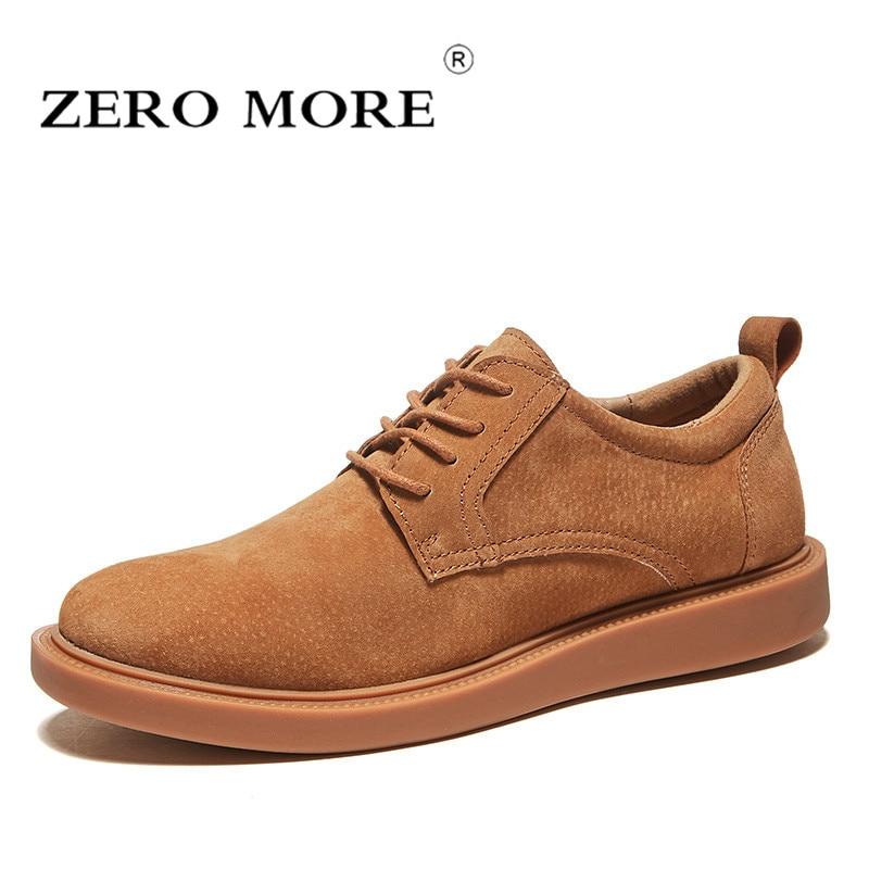 Venda Homens Sólidos Porco Rendas Sapatos Quente Pé Dedo Preto Até Do 2018 Zero Casuais cinza Mens marrom Redondo Masculino Camurça De Costura Mais Suave Moda AzCq8I