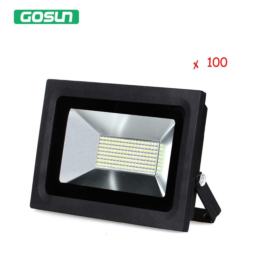 ФОТО 100 pcs/lot 60W Led Flood Light Floodlight 220V 110V Warm Cold White Spotlight Lamp High Power Waterproof IP65 Excellent Quality