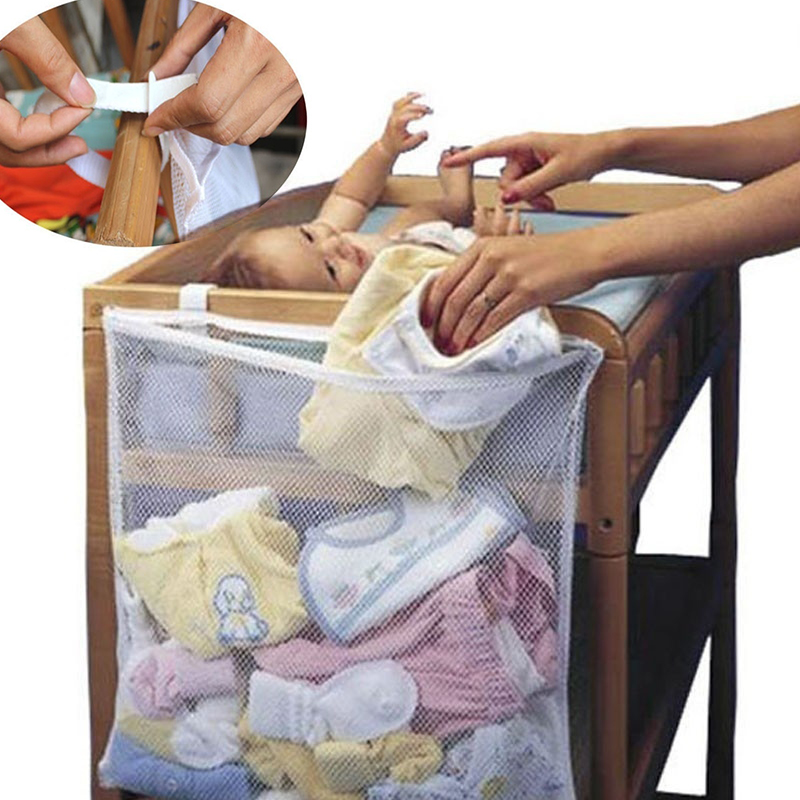 Large Hanging Storage Bag Basket Organizer for Baby Toys Dirty Clothes(China)