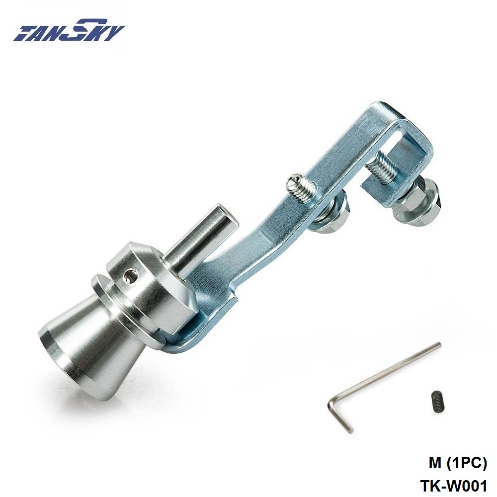 Car Blow Off Valve Turbo Sound Whistle Aluminum Simulator Sound Pipe S Size QY