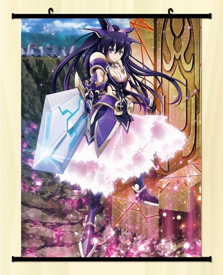 Date A Live Tohka Yatogami Princess Home Decor Japan Poster Wall Scroll Anime